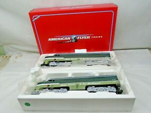 AMERICAN FLYER S GAUGE 48114 NORTHERN PACIFIC POWERED A & DUMMY A UNIT #8114 NEW