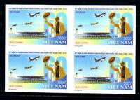 N.1063-Vietnam – Block 4 IMPERF. Ho Chi Minh with -Vietnam's Civil Aviation