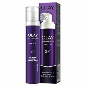 Olay Anti-Wrinkle Booster Firm & Lift 2-In-1 Day Cream & Firming Serum - 50ml
