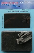 Aires 1/72 F-117A Nighthawk Cockpit Set for Academy kit # 7229