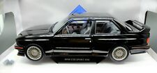 MODELLINI AUTO SCALA 1/18 BMW E30 M3 DIECAST CAR MODEL SOLIDO COCHE MINIATURES