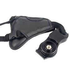 Black wrist strap PU Hand Grip for Nikon photo accessories  Sony Camera BT