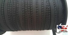 """Wholesale roll 100 yards BLACK  picot elastic trim 7/16"""" W. great for lingerie"""