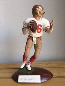 Joe Montana Signed Artist Proof Figurine Porcelain White Jersey GARTLAN