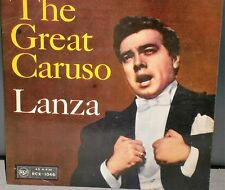 "MARIO LANZA THE GREAT CARUSO EP 1958 RCX-1046 RCA VICTOR RECORDS 7"" VINYL SINGLE"