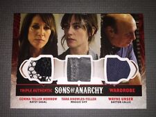 Sons Of Anarchy Trading Cards Triple Authentic Wardrobe Card.