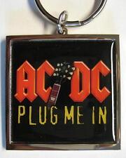 """AC/DC SCHLÜSSELANHÄNGER # 11 / METALL """"PLUG ME IN"""""""