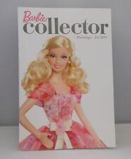 Catalogue Barbie Collection France Mattel printemps été 2014