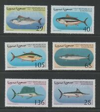 Thematic Stamps Animals - SAHARA 1997 FISHES 6v mint