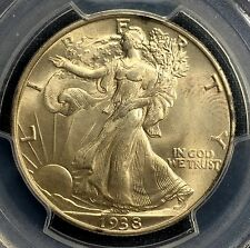 1938 Walking Liberty Half Dollar  PCGS MS65