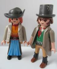 Playmobil Man & Lady Outlaws/Bandit couple NEW extra figures for western sets