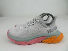 Hoka One One Clifton Edge Cloud/Multicolor Running Athletic Shoes Womens 8.5