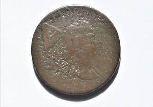 1794 Liberty Cap Cent. S-19A. Rarity 5+. Head of 1793. Good/AG