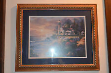 JAMES LEE, GUARDIAN OF LIGHT picture / frame by Home & Garden Party 23x19  w gla