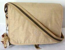 Kipling TM5354 HAYDAN CrossBody Messenger Bag w/Laptop Protection, Coffee Latte