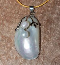 -elegant-large-pearl-necklace-pendant-gemstone-silver-jewelry-cocktail-style-15