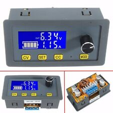 Dc 5a Digital Adjustable Step Up Down Power Supply Voltage Regulator Module Case