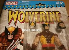 "New 2017 Marvel Legends Retro WOLVERINE Hasbro 6""Figure X-Men Logan Brown ToyBiz"