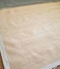 Pottery Barn Chenille Basket Weave Rug Gray Beige Size 8' x10'