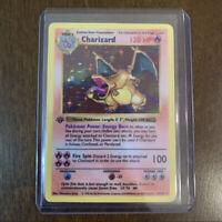 *REPLICA* Charizard 1st Edition Shadowless Base Set 4/102 Card