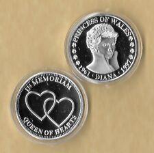 PRINCESS DIANA 1997 QUEEN OF HEARTS 1961-1997 SILVER COIN