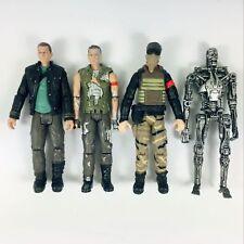 4pcs Terminator Salvation  Battle Damage JOHN CONNOR  Marcus T-700 skeleton