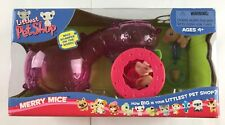 Littlest Pet Shop LPS Merry Mice Playset w/ Mouse Figures Hasbro