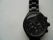 Fossil Chronograph men's dress date & Analog dress watch with extra link.Ch-2803
