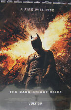 """The Dark Knight Rises The Legend Ends July 20 11"""" x 17"""" Movie Poster"""