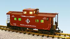 USA Trains 12161 G Scale Center Cupola Caboose Erie Lackawanna