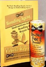 Bo-Nash Fabric Bonding Agent Powder 2Oz Fusible Make invisible repair Mpn 1002