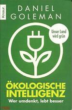 Ökologische Intelligenz Daniek Goleman  Taschenbuch ++Ungelesen++