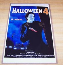 Halloween 4 IV 11X17 Return of Michael Myers Movie Poster Foreign Version