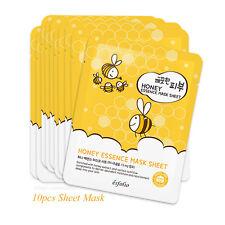 10pcs Esfolio Pure Skin Honey Essence Mask Sheet 25ml Korean Cosmetics
