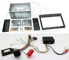 Porsche 911 996 Double Din Fitting Kit with Steering and Amplifier Adaptor