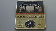 Mercedes W111 W112 W109 W108 classic Car Grill badge emblem badge vintage
