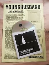 Younghusband Left Of The Rocks Promo / DJ CD 2014 Sonic Cathedral Recordings