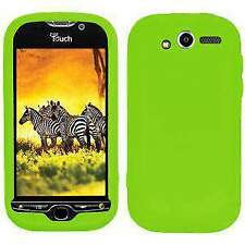 AMZER Silicone Soft Skin Jelly Fit Back Case Cover For HTC myTouch 4G Green