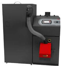 Pelletheizung-Komplett-Anlage Iwabo Pellux 100 20 kW Kessel Pufferspeicher Laddo