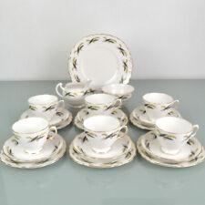 Vintage Royal Vale China Tea Set 21 Piece - Gorgeous!