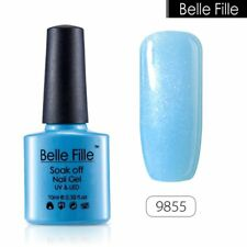 BELLE FILLE Soak Off Gel Polish UV LED Nail Manicure DIY Candy Color Varnish