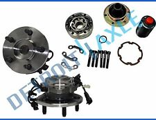 Front Drive Shaft CV Joint Repair Kit + Wheel Hubs for Jeep Liberty - 4x4 w/ ABS