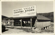 Renfro Valley KY The Country Store CLINE Real Photo Postcard