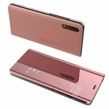 For Huawei Mate 30 20 P30 P20 P10 Lite Pro P Smart Case Cover Mirror Stand Folio