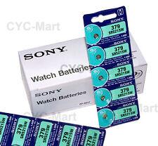 100 pcs Sony SR521SW 379 Silver Oxide Watch Battery, Made in Japan FREE POST