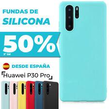 Funda Huawei P30 Pro Carcasa Silicona + Protector Pantalla Completa Opcional