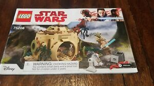 LEGO Star Wars Yoda's Hut (75208) - Instruction Manual Only