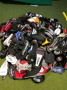 Lot of 100+ Golf Headcovers Ping TaylorMade Callaway Titleist and More!