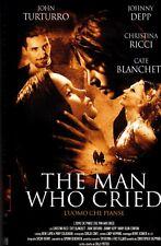 The Man Who Cried. L'uomo che pianse (2000) VHS ElleU Johnny DEPP Cristina RICCI