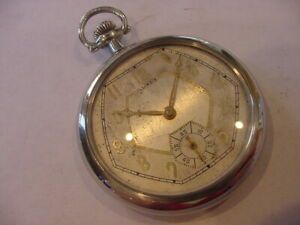 "BEAUTIFUL 1927 17j ILLINOIS ""ART DECO"" MODEL 3 POCKET WATCH No Reserve!"